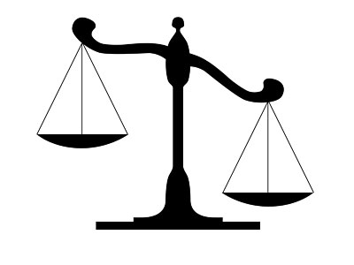 Clipart law scales