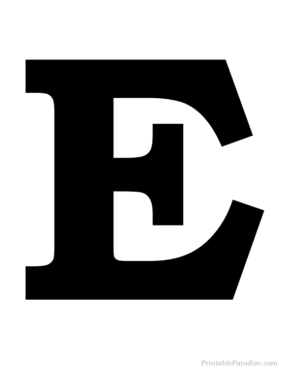 Letter E Coloring Pages - GetColoringPages.com