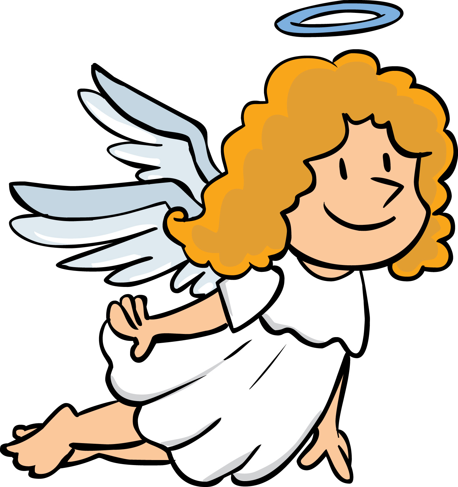 Angel cartoon clipart best for Angel clipart