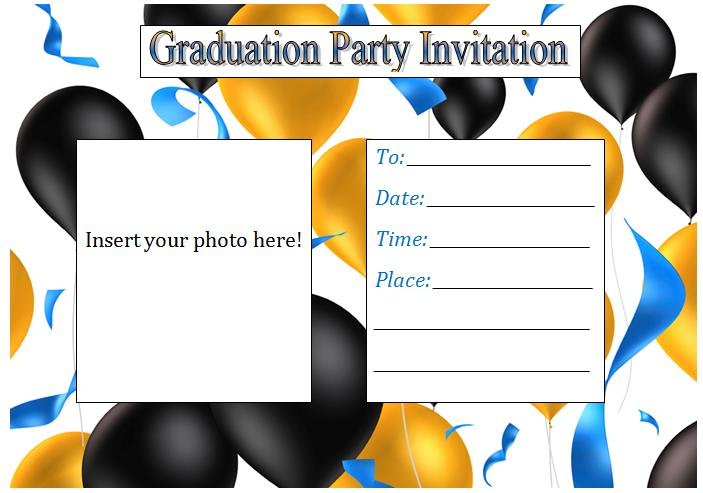 printable graduation party invitations  clipart best, Party invitations