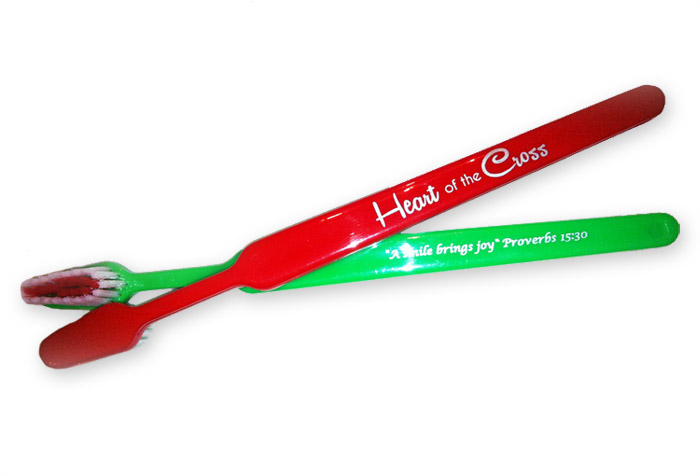 Christmas Toothbrush | Heart of the Cross