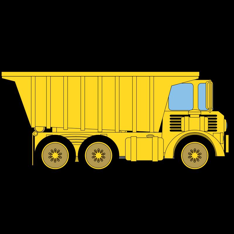 yellow truck clipart - photo #6