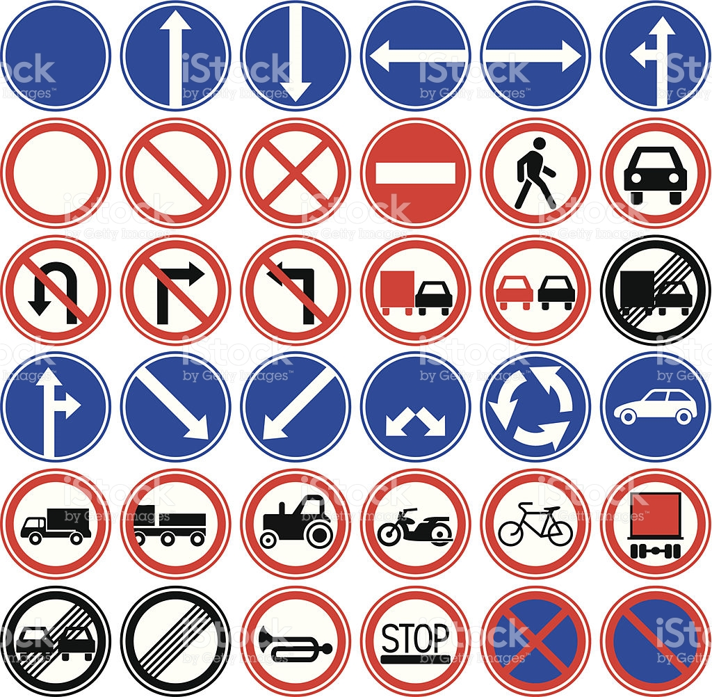 Vector Traffic Signs - ClipArt Best