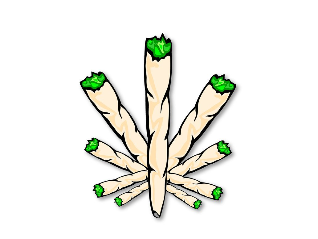 Drawing Weed - ClipArt Best