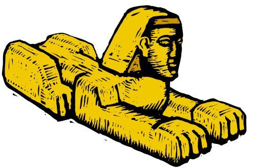 Sphinx Head Cartoon Illustration - 170039762 : Shutterstock