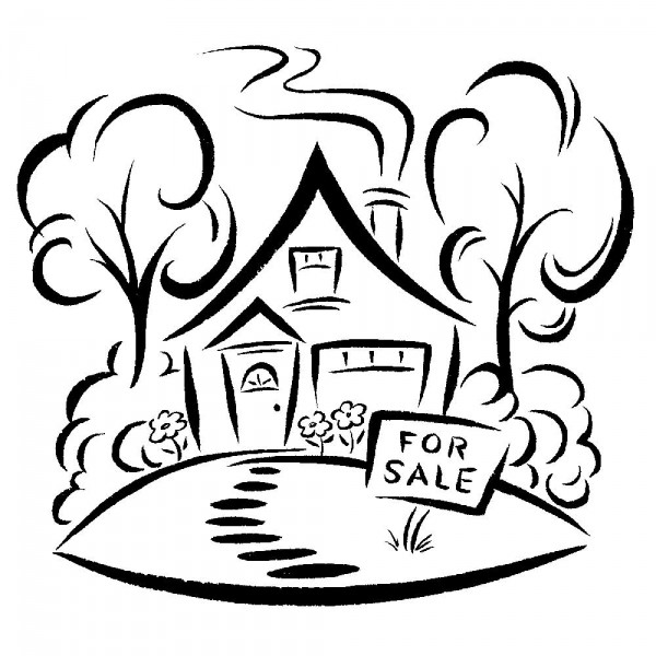 Images Of House In Line Art - ClipArt Best