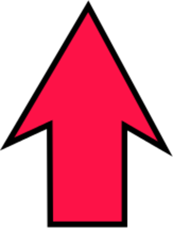 Red Arrow Pointing Up - ClipArt Best