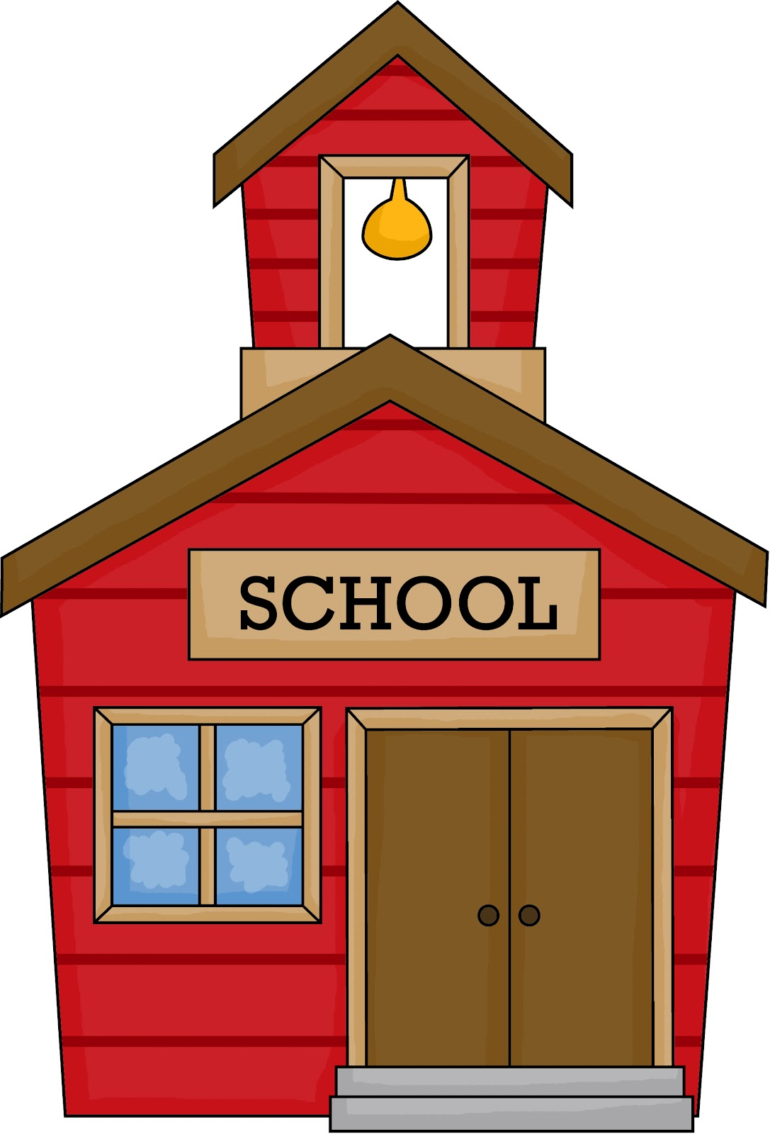 School house graphics clipart best for Best old school house