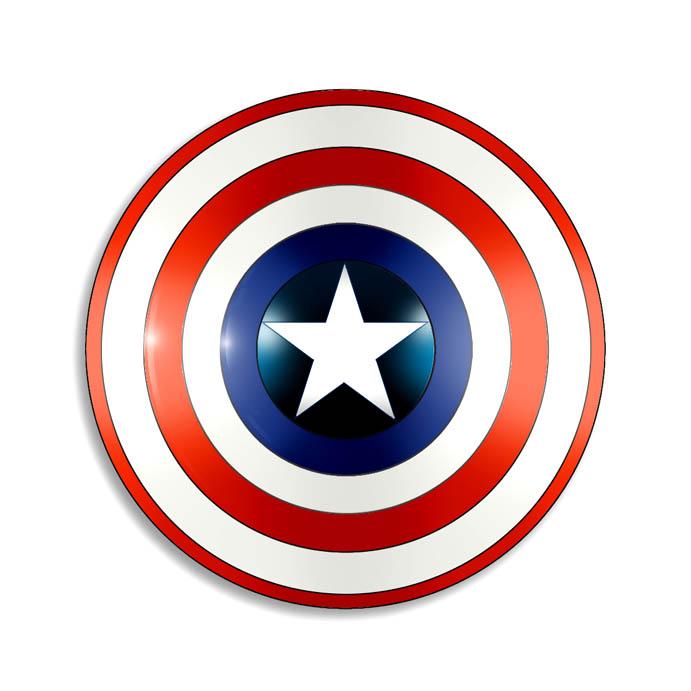 Captain America's Shield - Marvel Comics Database ... Captain America Logo Clip Art