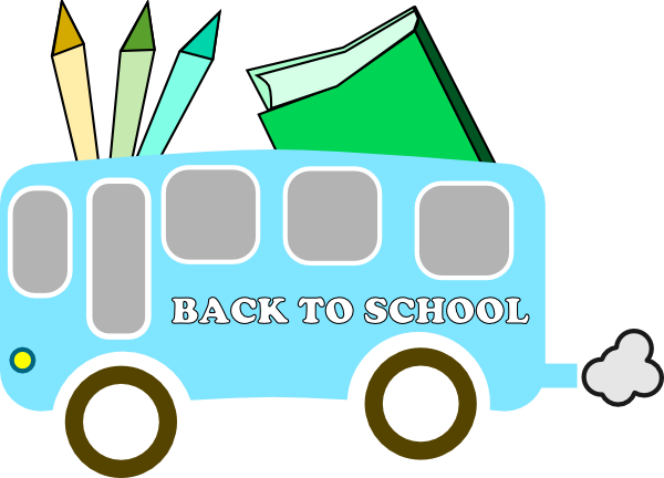Back To School clip art Free Vector