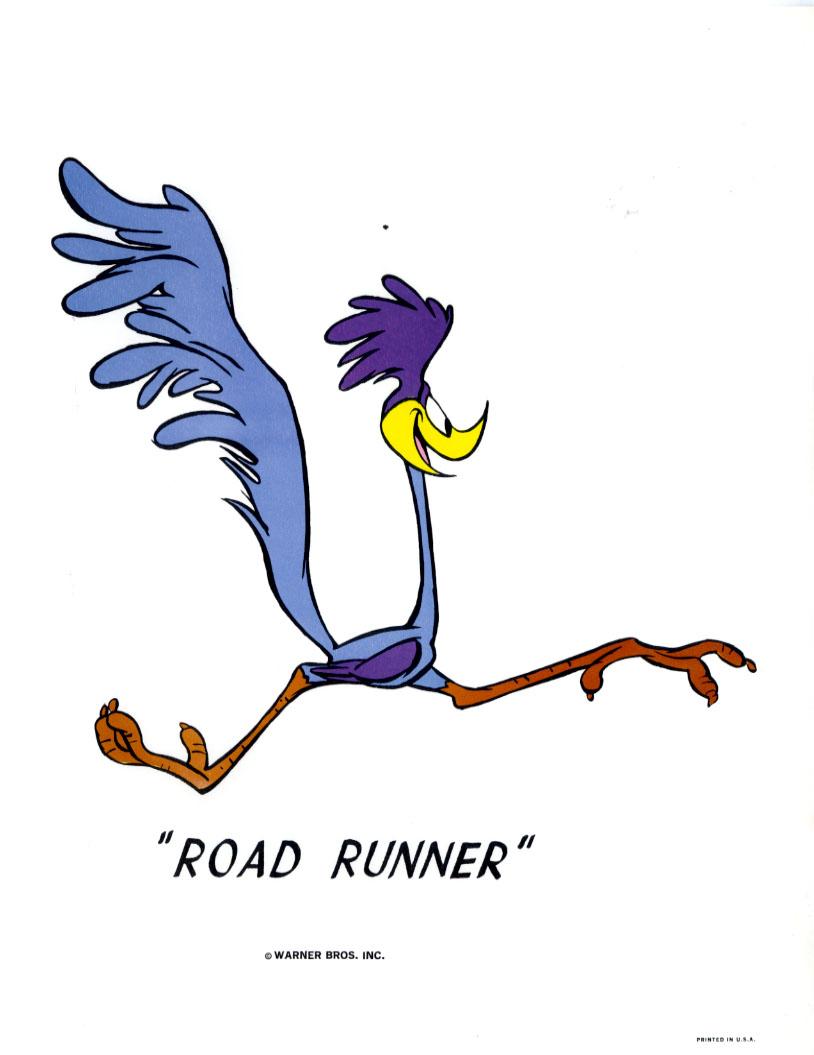 Roadrunner Cartoon - ClipArt Best
