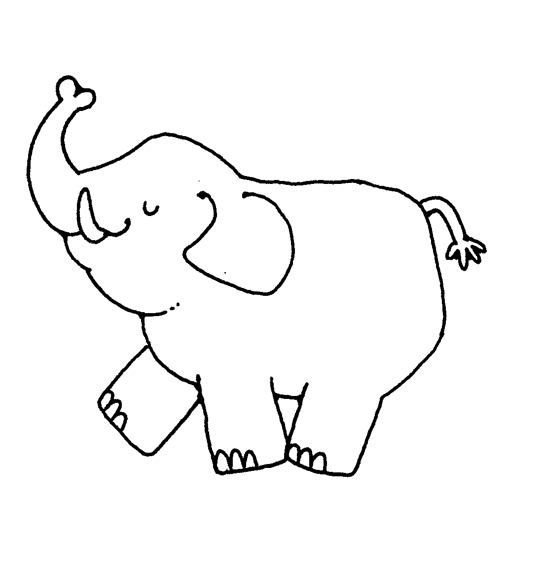 Can't find the ... Elephant Printable Clipart