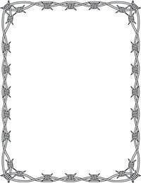 Page Border Barbed Wire - ClipArt Best