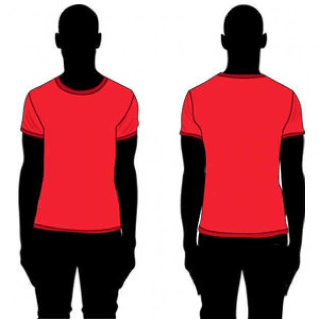 Free vector t shirt clipart best for Vector art for t shirts