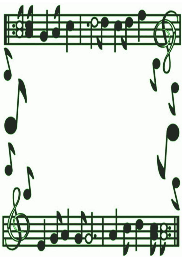 Musical Border - ClipArt Best
