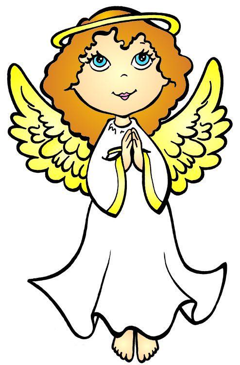 cartoon angel clipart - photo #1