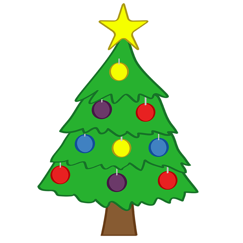 Tiny Christmas Tree Clip Art Christmas Tree Clip Art