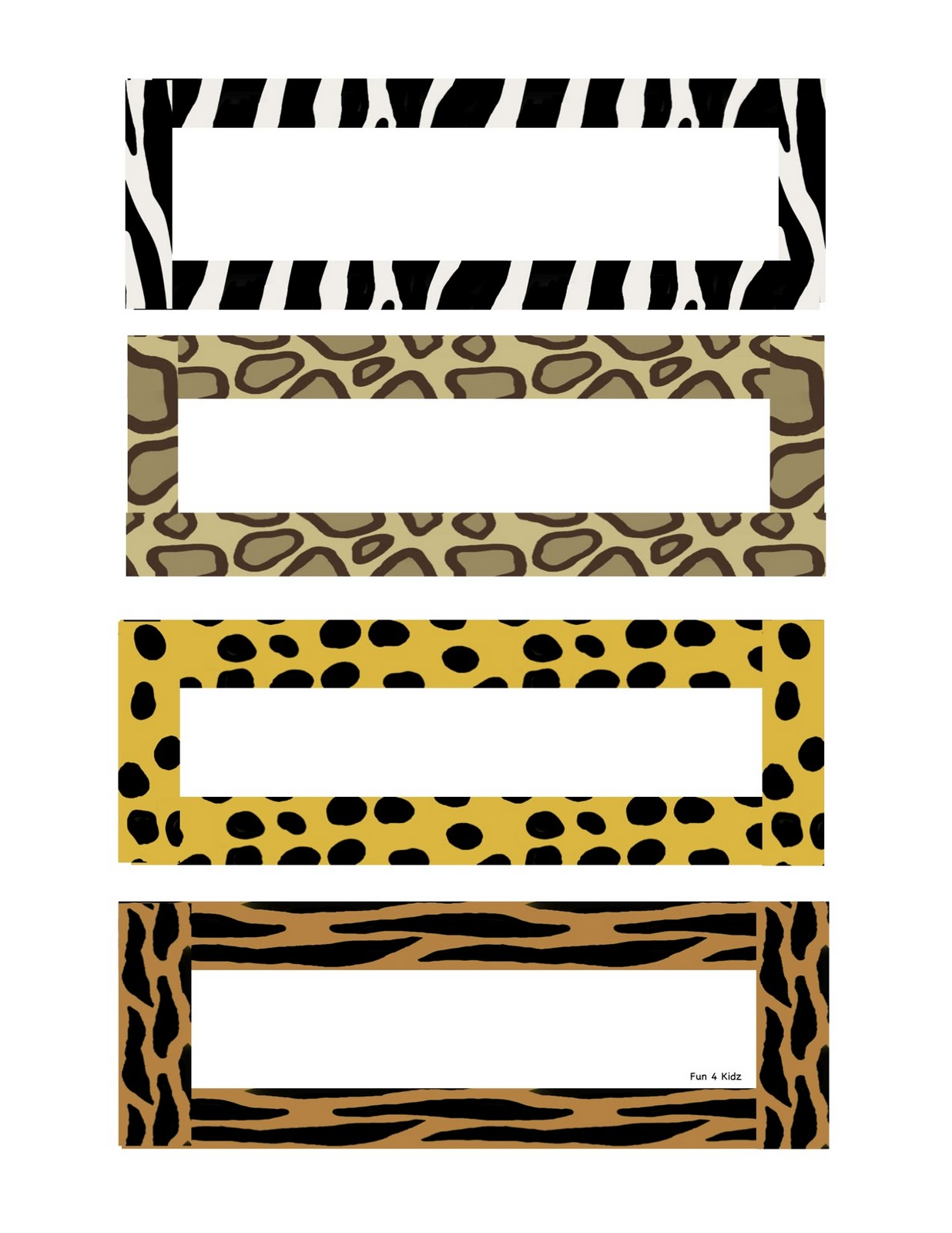 jungle print clip art - photo #14