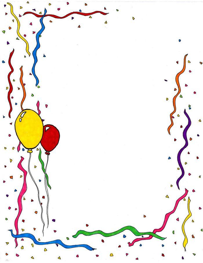 Celebration Border Clip Art – 101 Clip Art  |Celebration Border Clipart