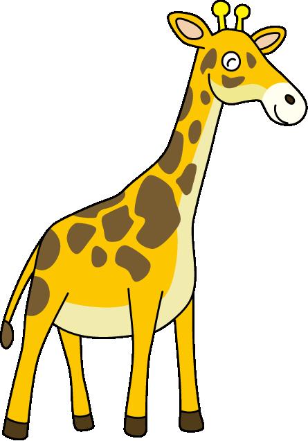 giraffe cartoon images