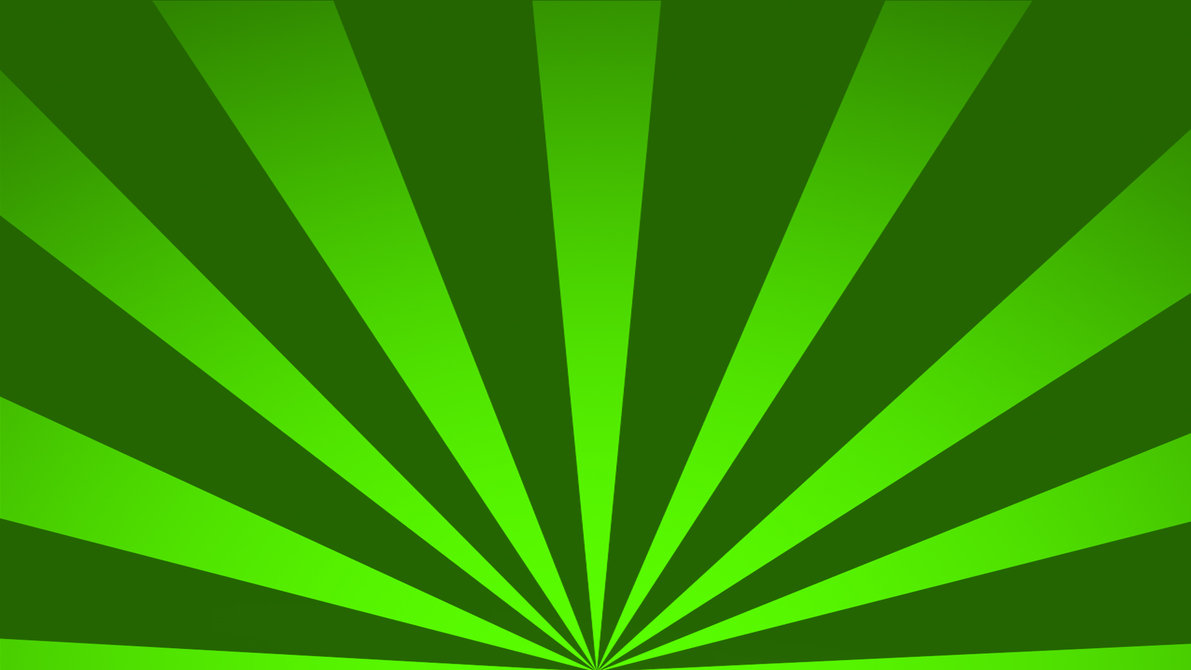 Free to use Background 1080p Green Sun Ray by HanpanTheAwesome