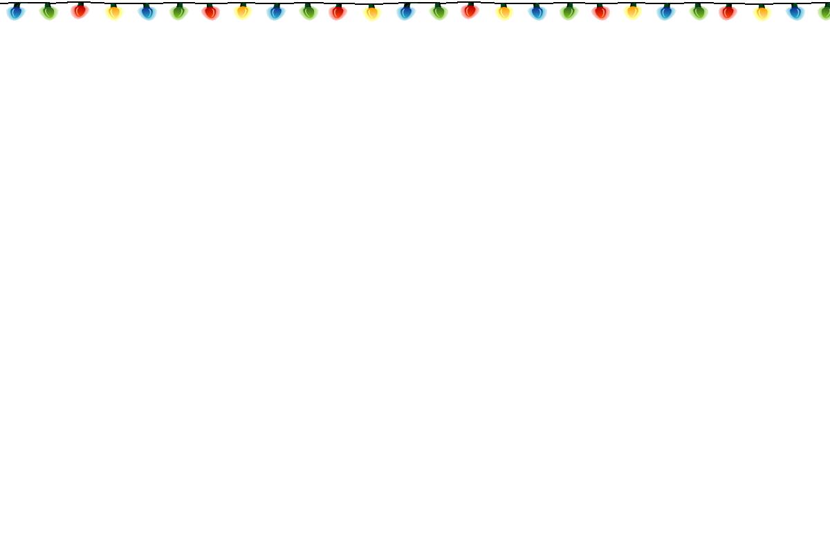 Christmas Lights Border Clip Art - ClipArt Best