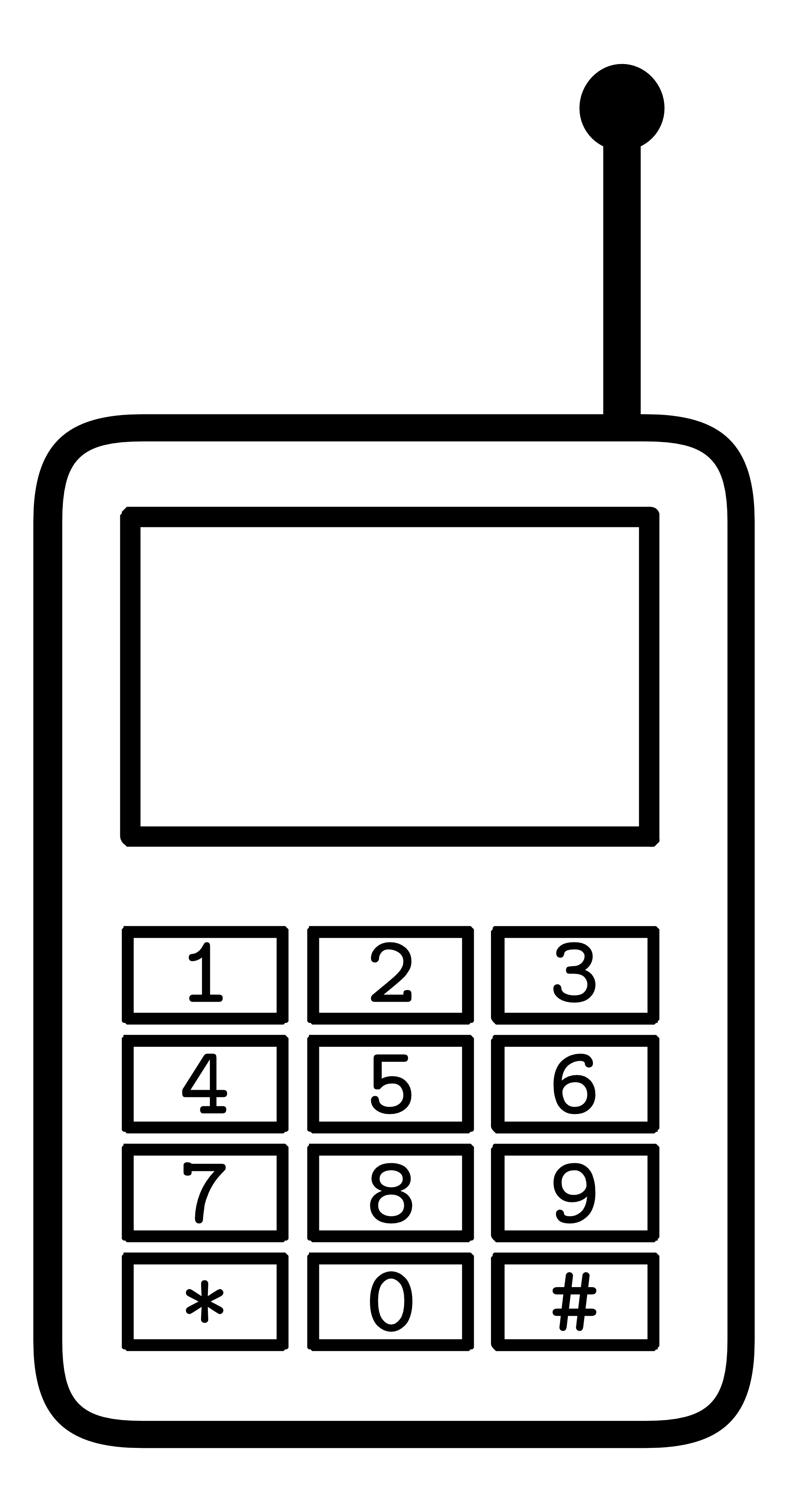 31 mobile phone clipart black and white . Free cliparts that you can ...
