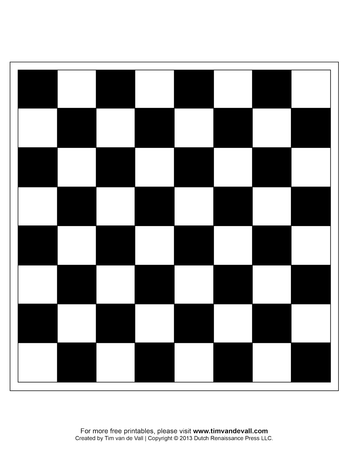 Printable Chess Game - ClipArt Best