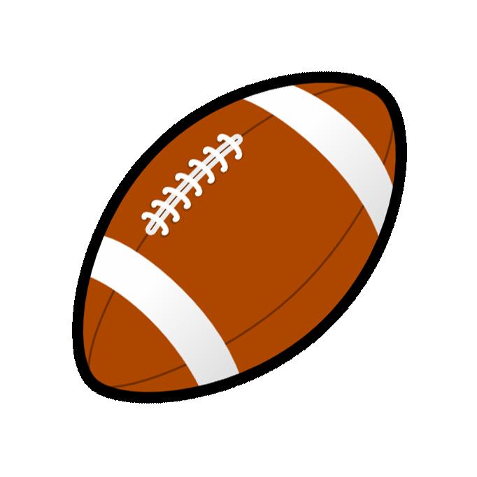animated clip art of football - photo #11