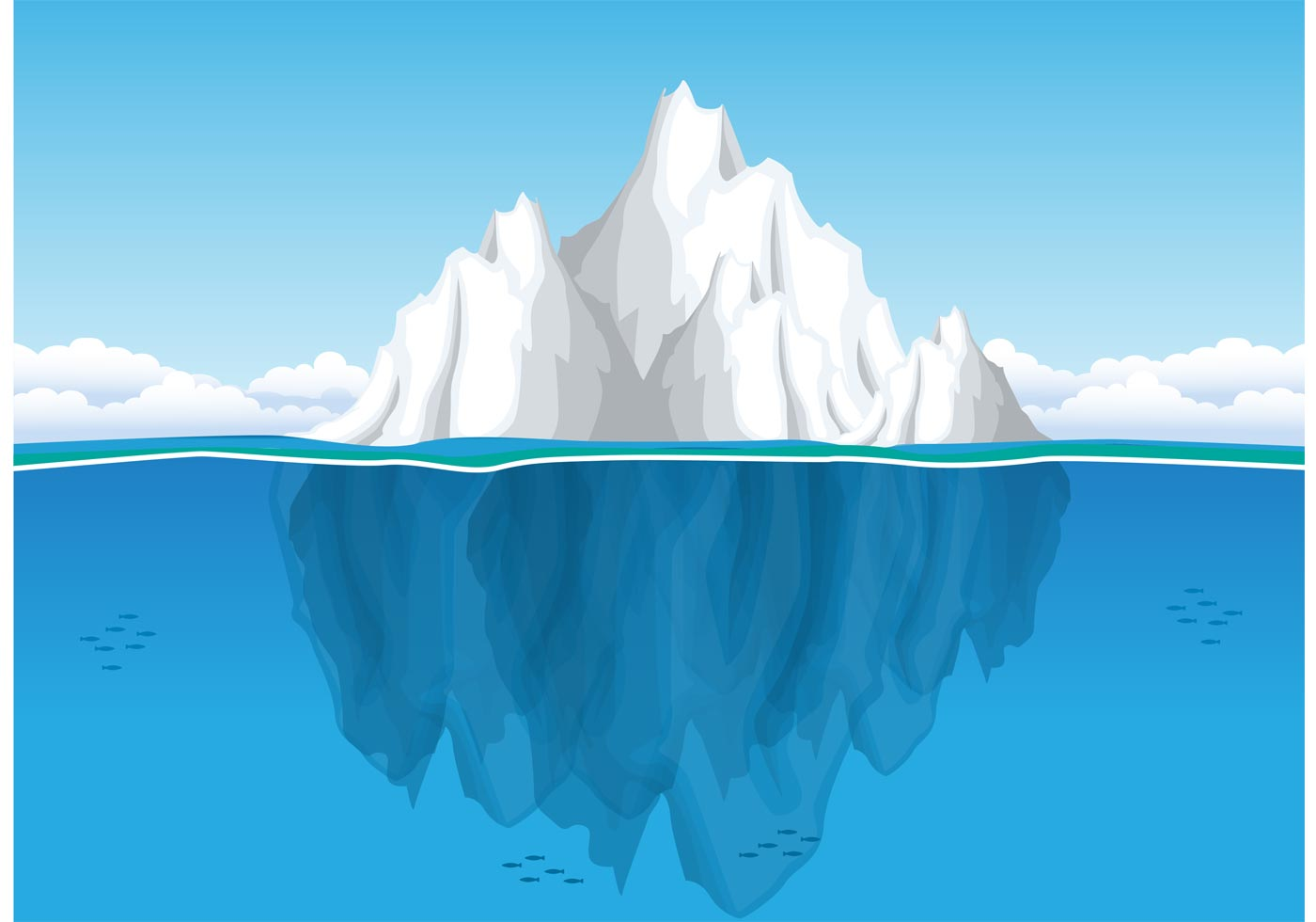 Iceberg Clip Art - ClipArt Best