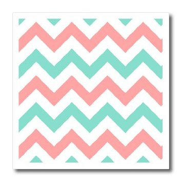 ... Coral Pink and Turquoise Chevron ... - ClipArt Best - ClipArt Best
