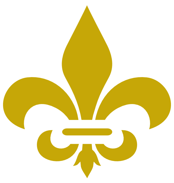 flor de lis vector png clipart best Fluer De Lis Fleur De Lis Symbol