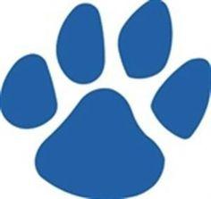 Uk Wildcat Paw Prints Clipart - ClipArt Best