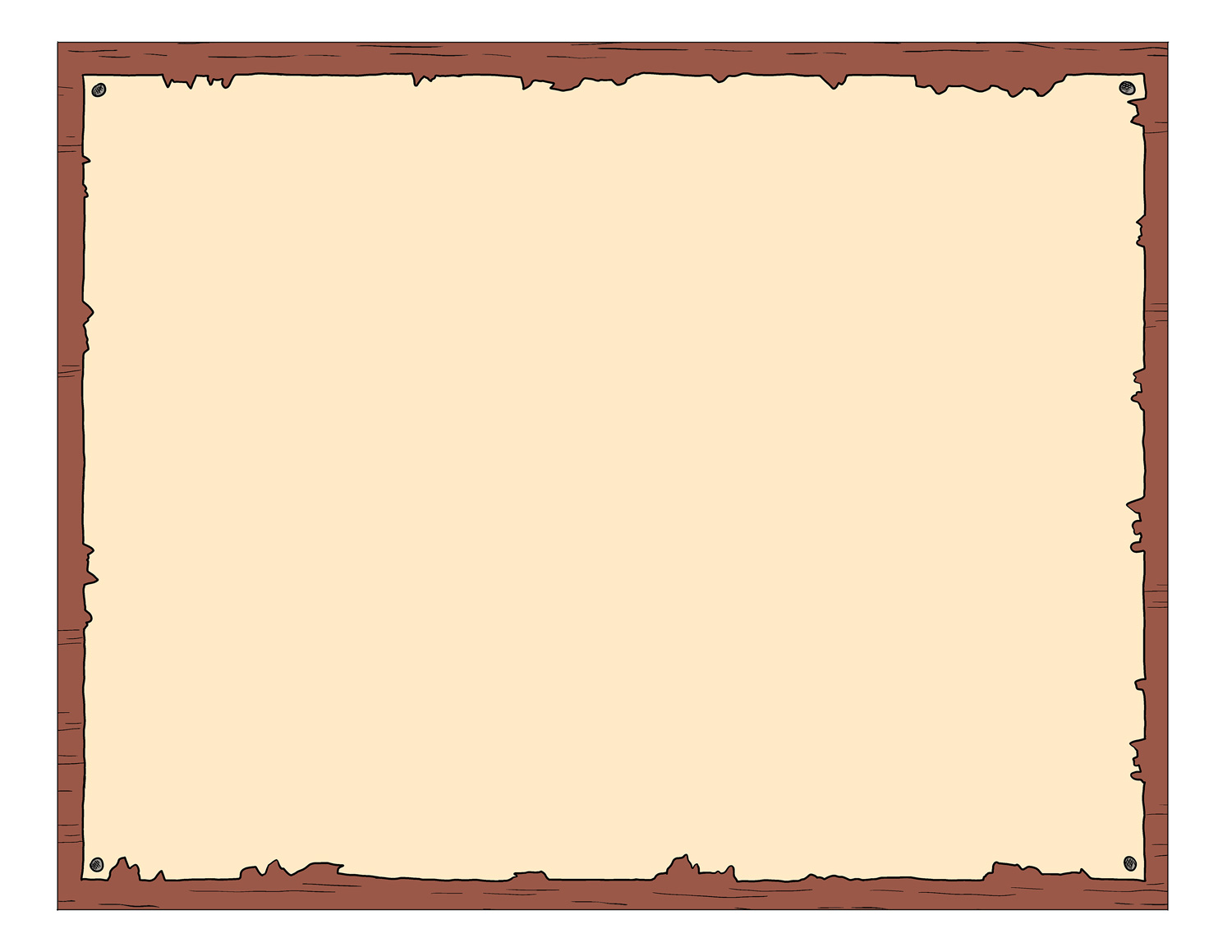 Treasure Map Blank - ClipArt Best