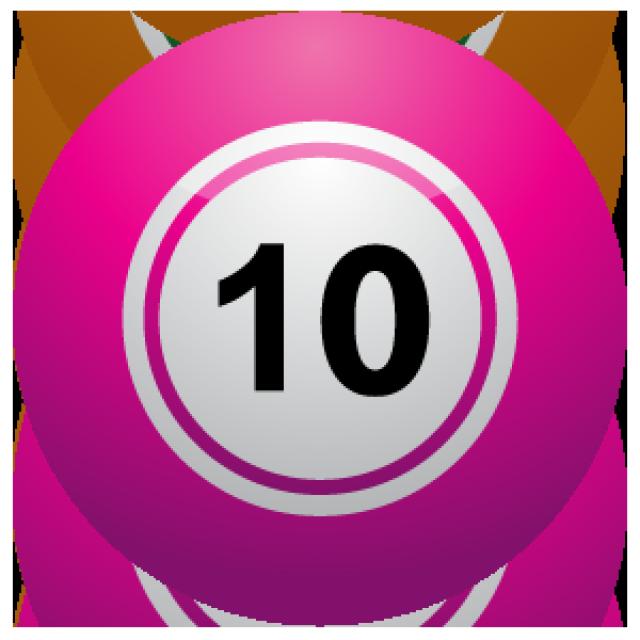 Number Ten Clip Art