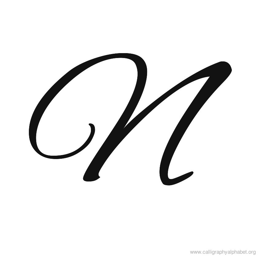 Calligraphy alphabet s clipart best