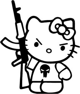 Hello Kitty Bdsm Coloring Pages