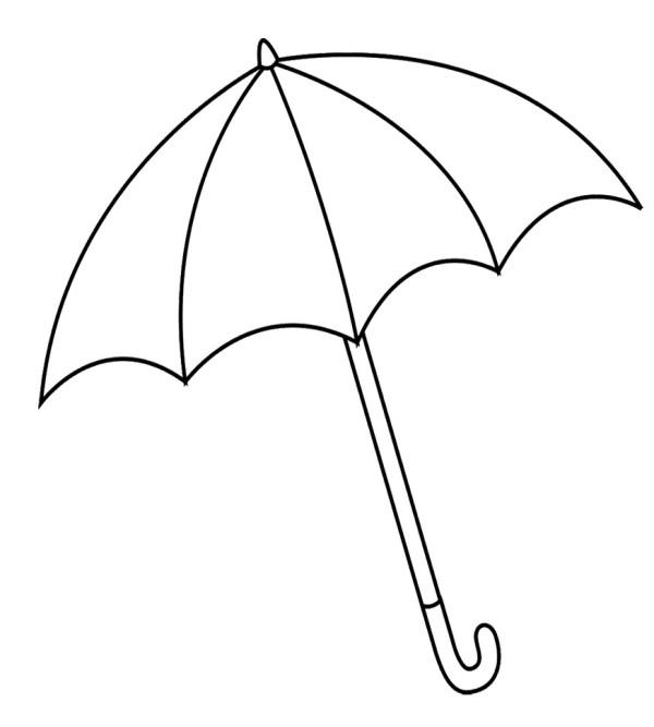 Line Art Umbrella : Umbrella line clipart best