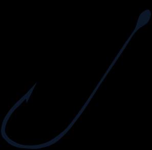 Fishing Hook clip art - vector clip art online, royalty free ...
