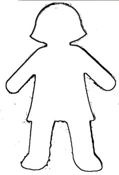 Template Of A Girl - ClipArt Best