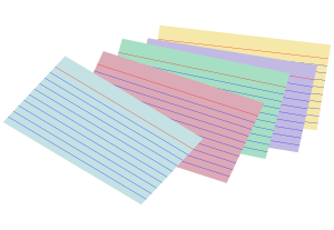 Stack of colored index cards Clipart, vector clip art online ...: www.clipartbest.com/index-card