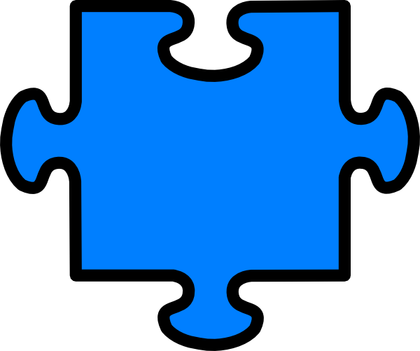 jigsaw piece outline clipart best