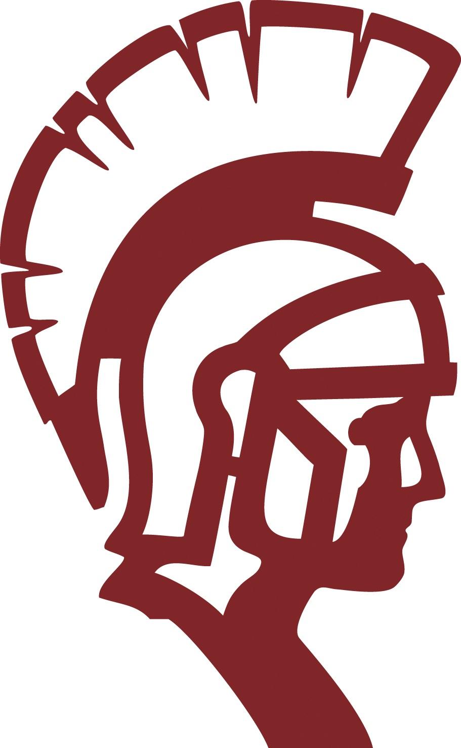 Black Spartan Head Logo - ClipArt Best
