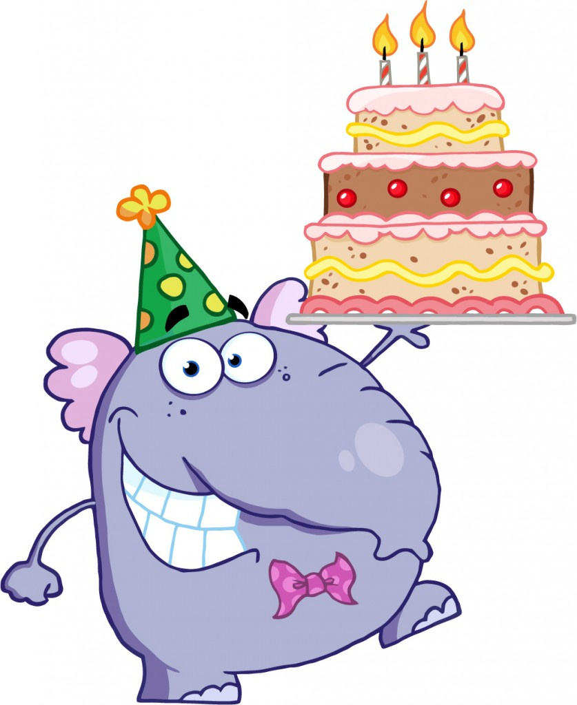 Happy Birthday Cake Cartoon - ClipArt Best