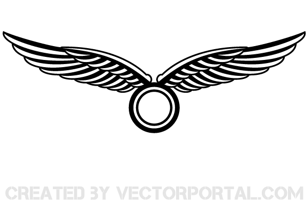 Vector Wings Logo Design | Download Free Vector Art | Free-Vectors