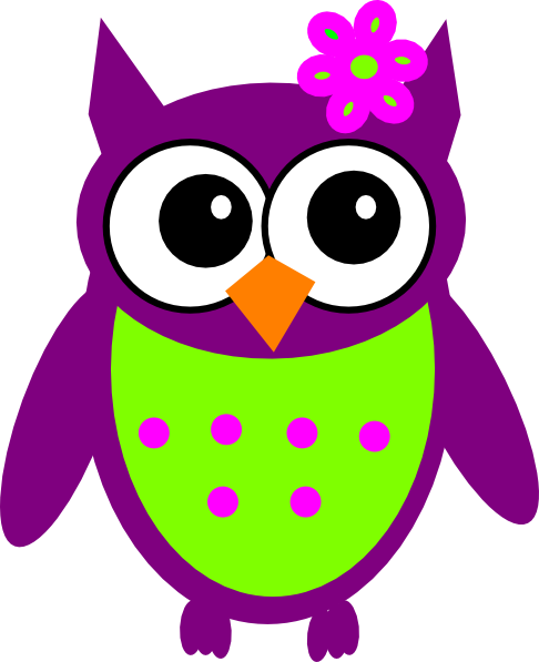 colorful cute owl vector - photo #24