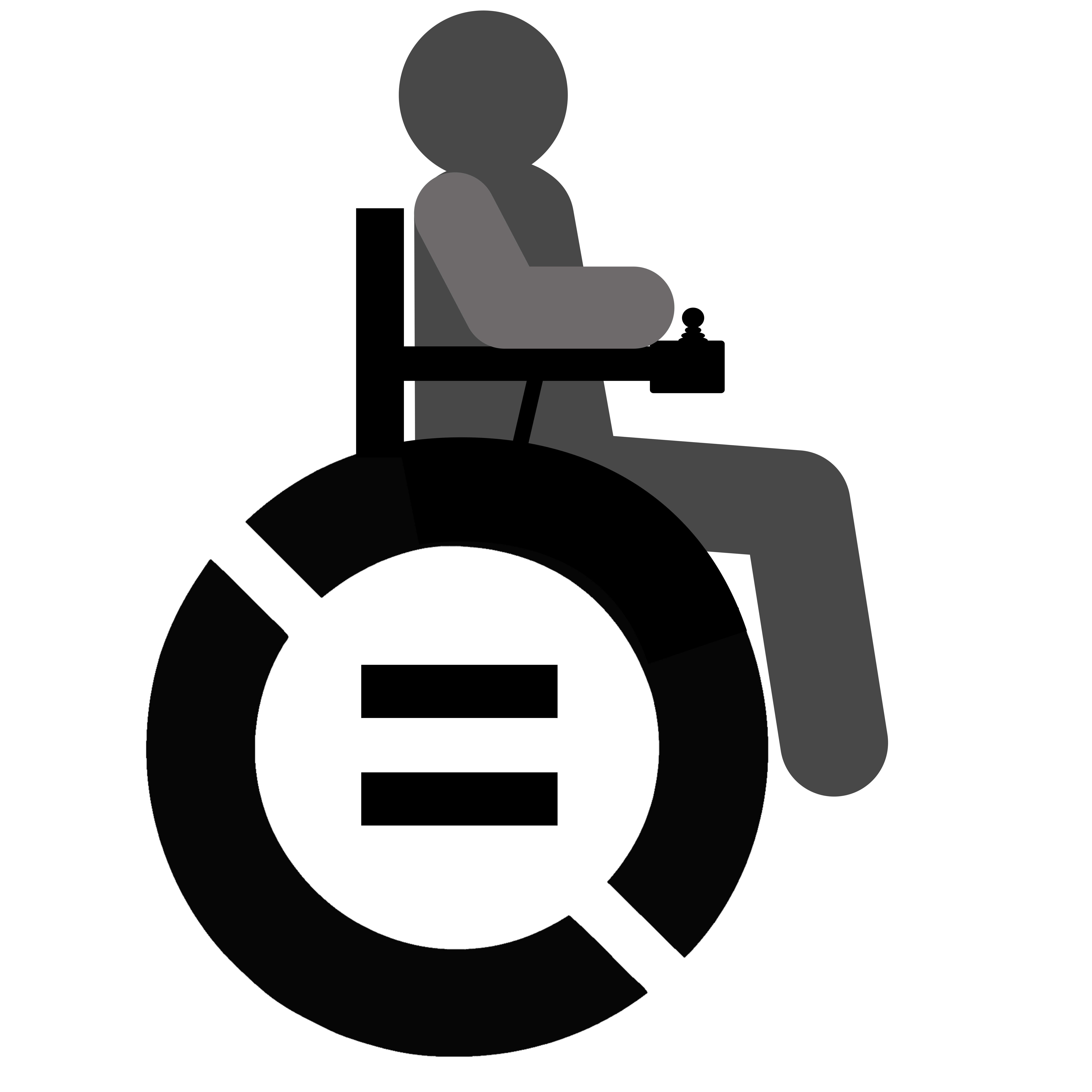 Wheelchair logo new | Disabled Identity
