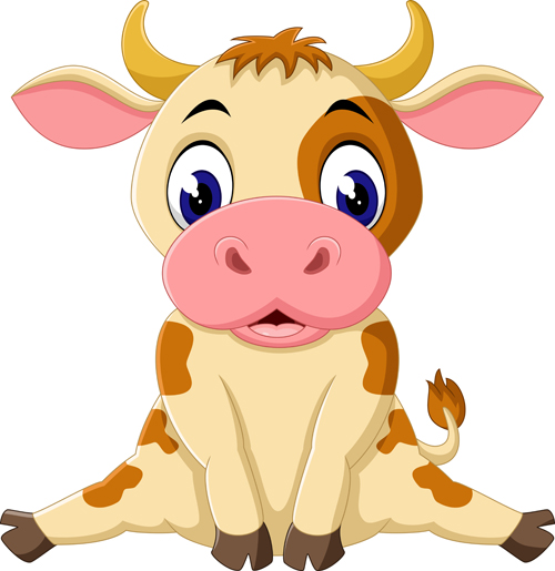 Cartoon Baby Cow - ClipArt Best