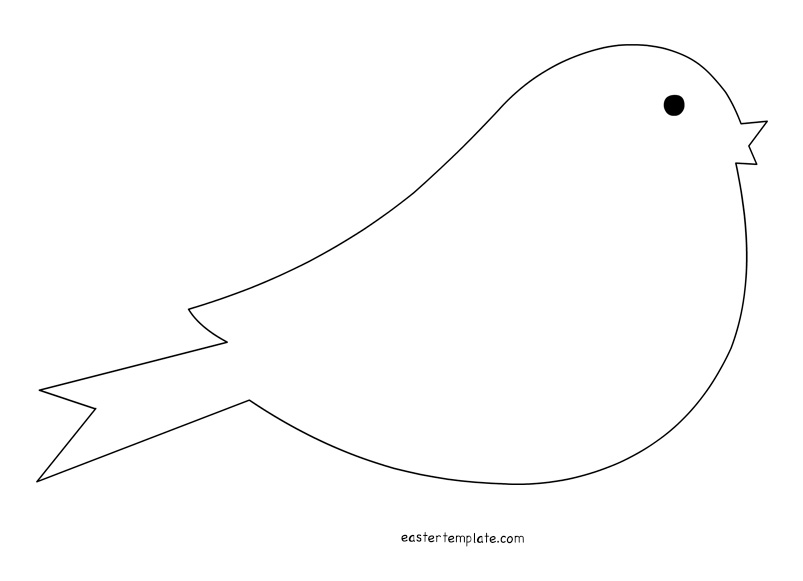 29 bird template shapes . Free cliparts that you can download to you ...