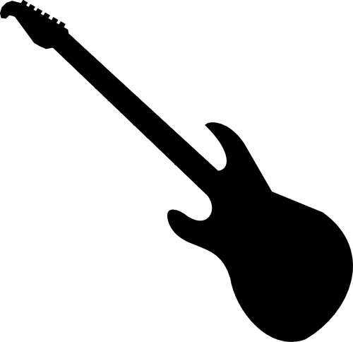 Guitar Outline - ClipArt Best